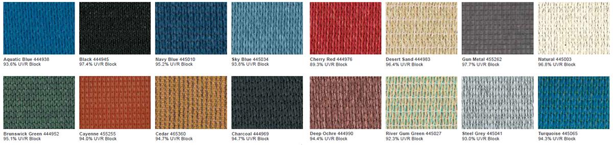 Màu vải HDPE