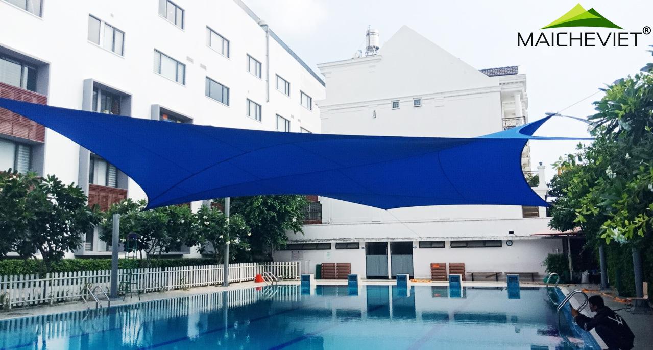 Chất liệu vải bạt Commercial 95 340 cho cấu trúc màng căng